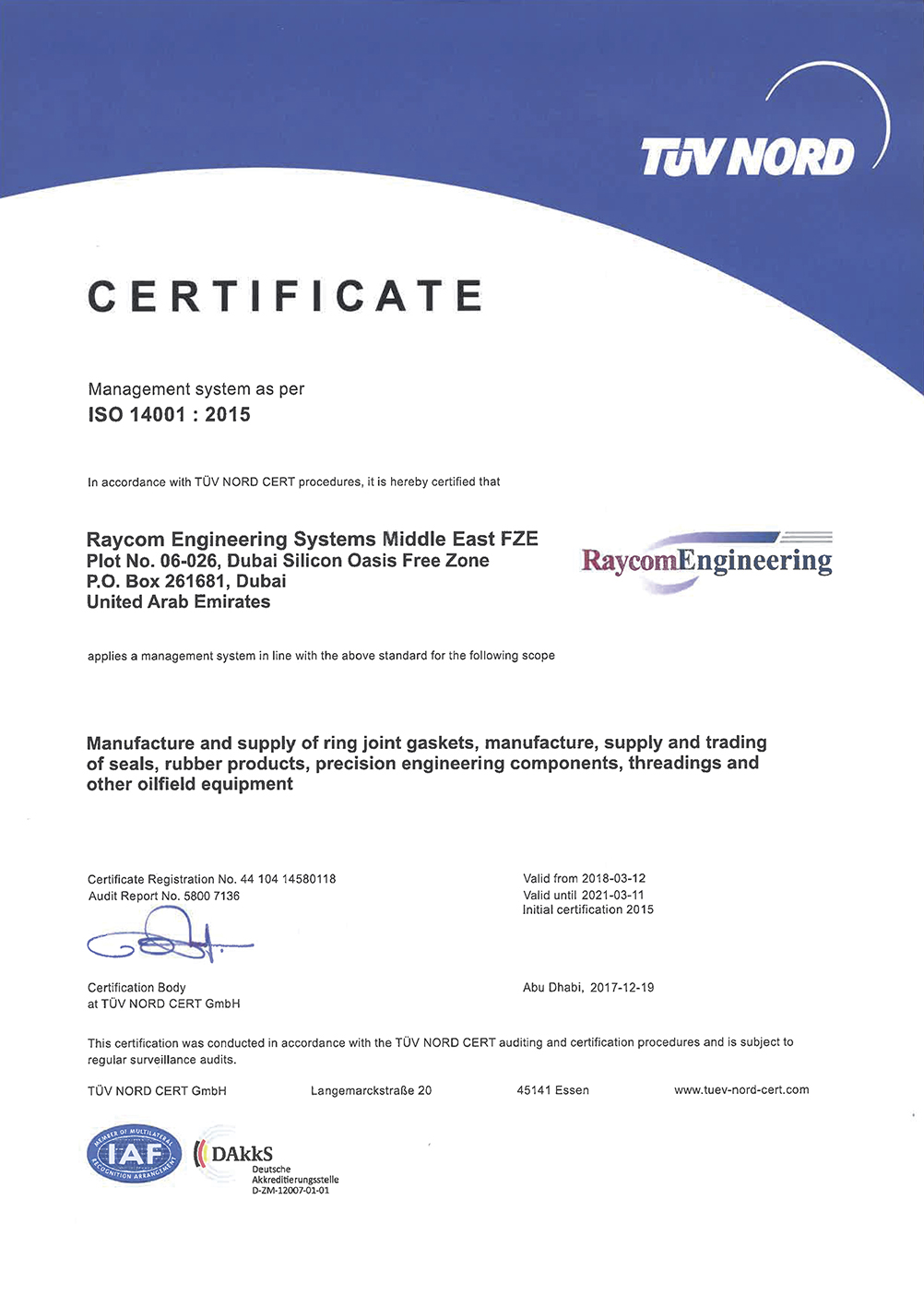 ISO Certified 2